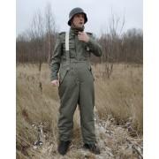 Зимние брюки штаны серо-зелёные фельдграу 1942-45