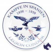 Тарелка Легион Кондор война в Испании 1936-1939