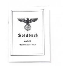 Солдатская книжка Вермахта (светлая обложка)