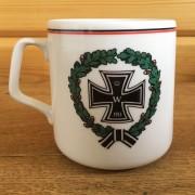 Кружка Гот Мит Унс 1914 с крестом в венке 330 мл