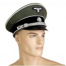 Фуражка офицера СС с вышитыми знаками