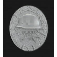 Знак за ранение 20 июля 1944