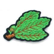 Листья егерей на кепку, знак / нашивка трилистник