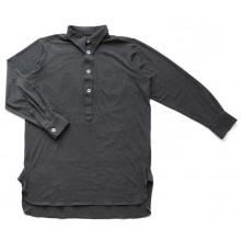 Рубашка трикотажная без карманов