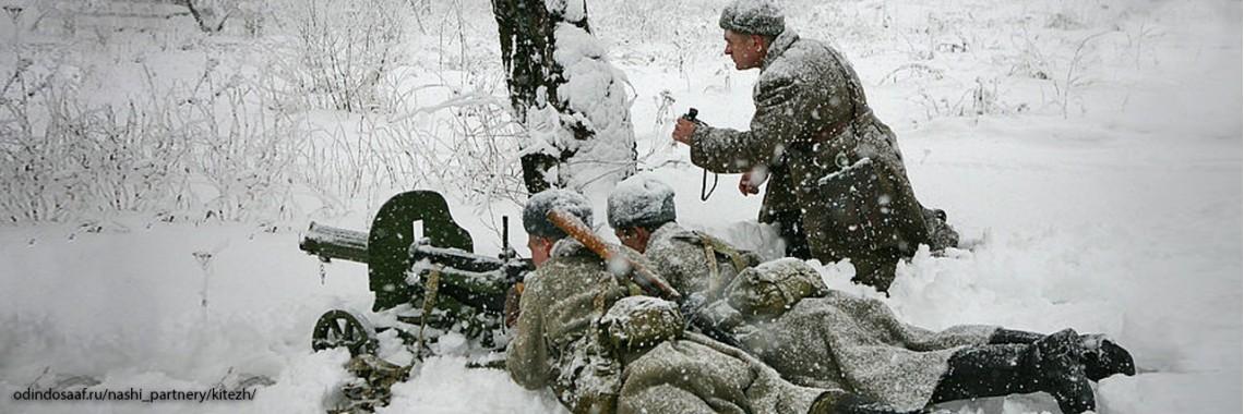Советские пулемётчики