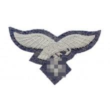 Орёл на фуражку/пилотку офицера Люфтваффе