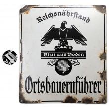 Коллекция немецких уличных знаков и табличек