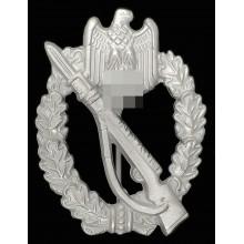 Пехотный штурмовой знак в серебре