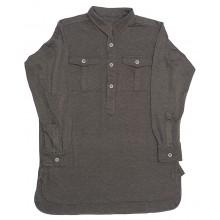 Рубашка трикотажная с карманами